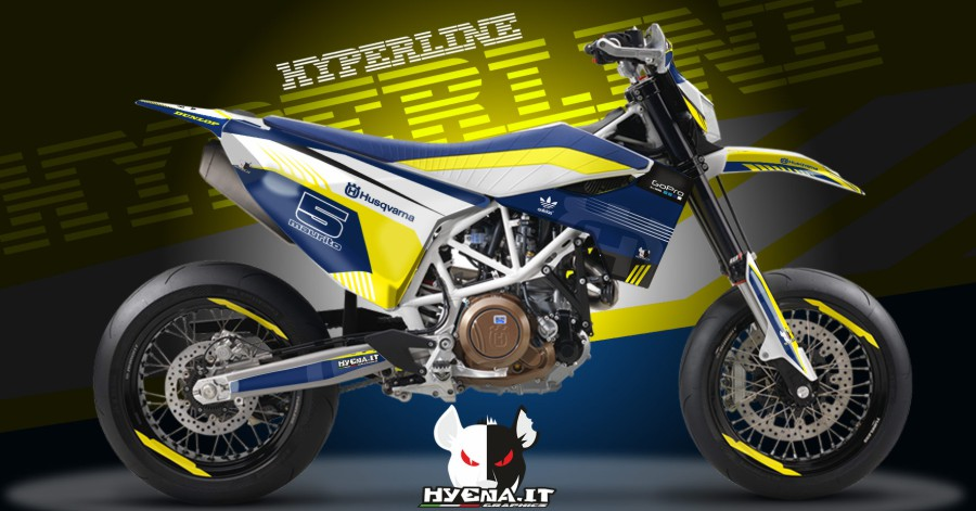 grafiche husqvarna 701 supermoto 2016 hyperline. Black Bedroom Furniture Sets. Home Design Ideas