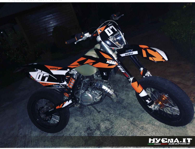 Hyena 2014 Review Grafiche KTM SX...