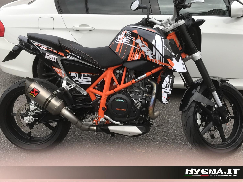 Hyena 2014 Review kit déco KTM D...