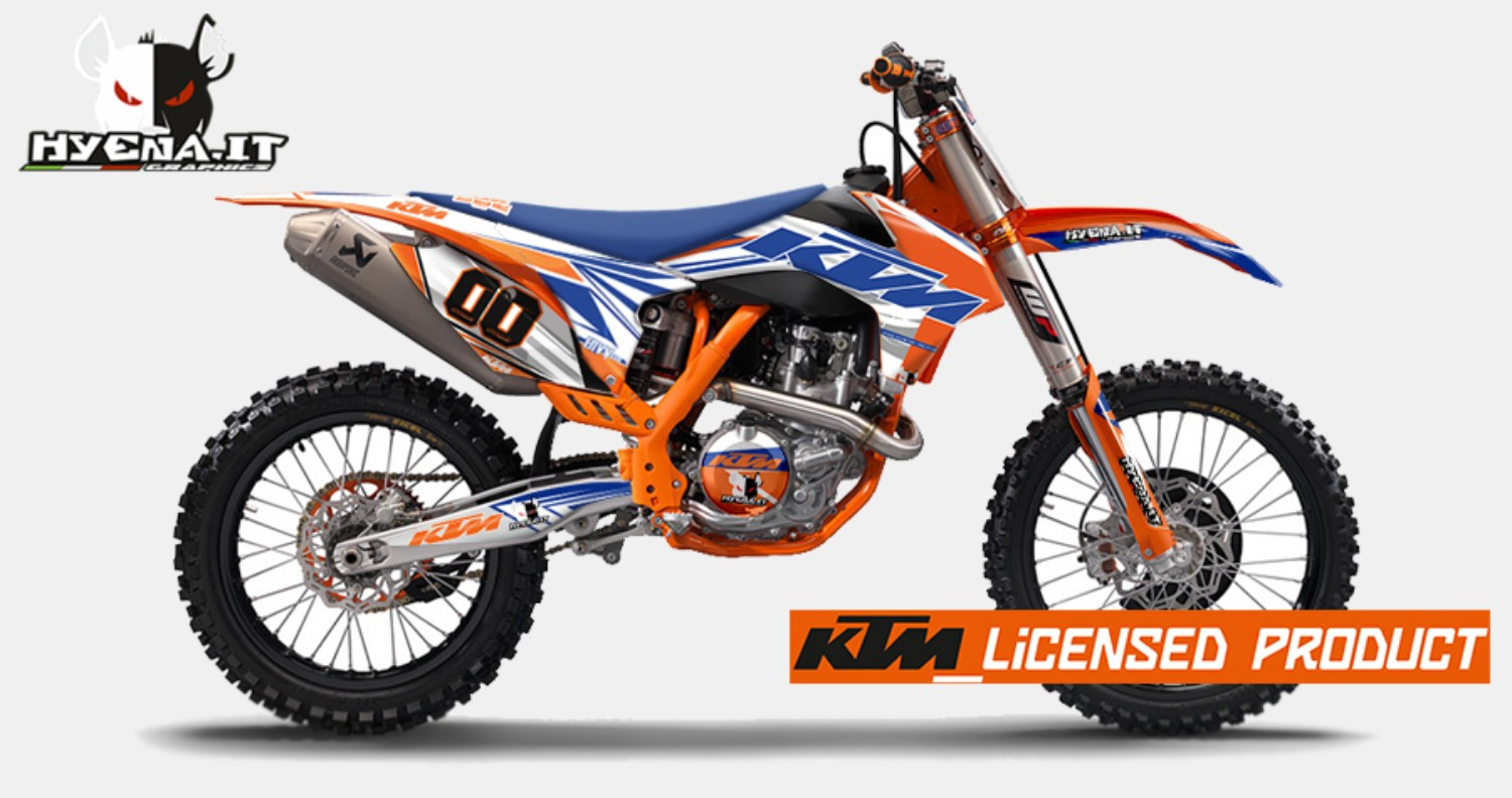 Hyena 2014 Review Graphic KTM EXC...