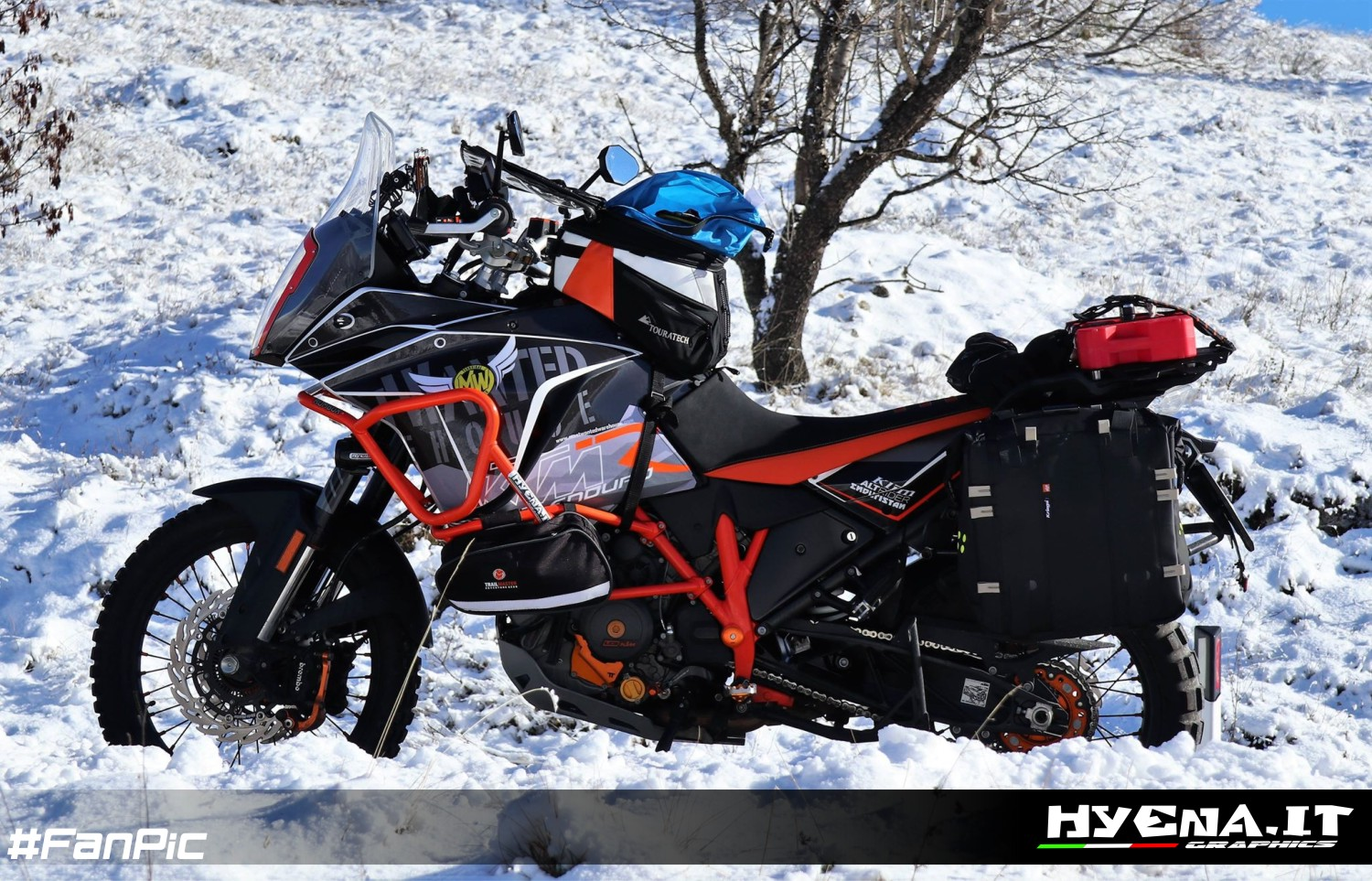 customized graphic kit  ktm  adventure customized decals  ktm  adventure