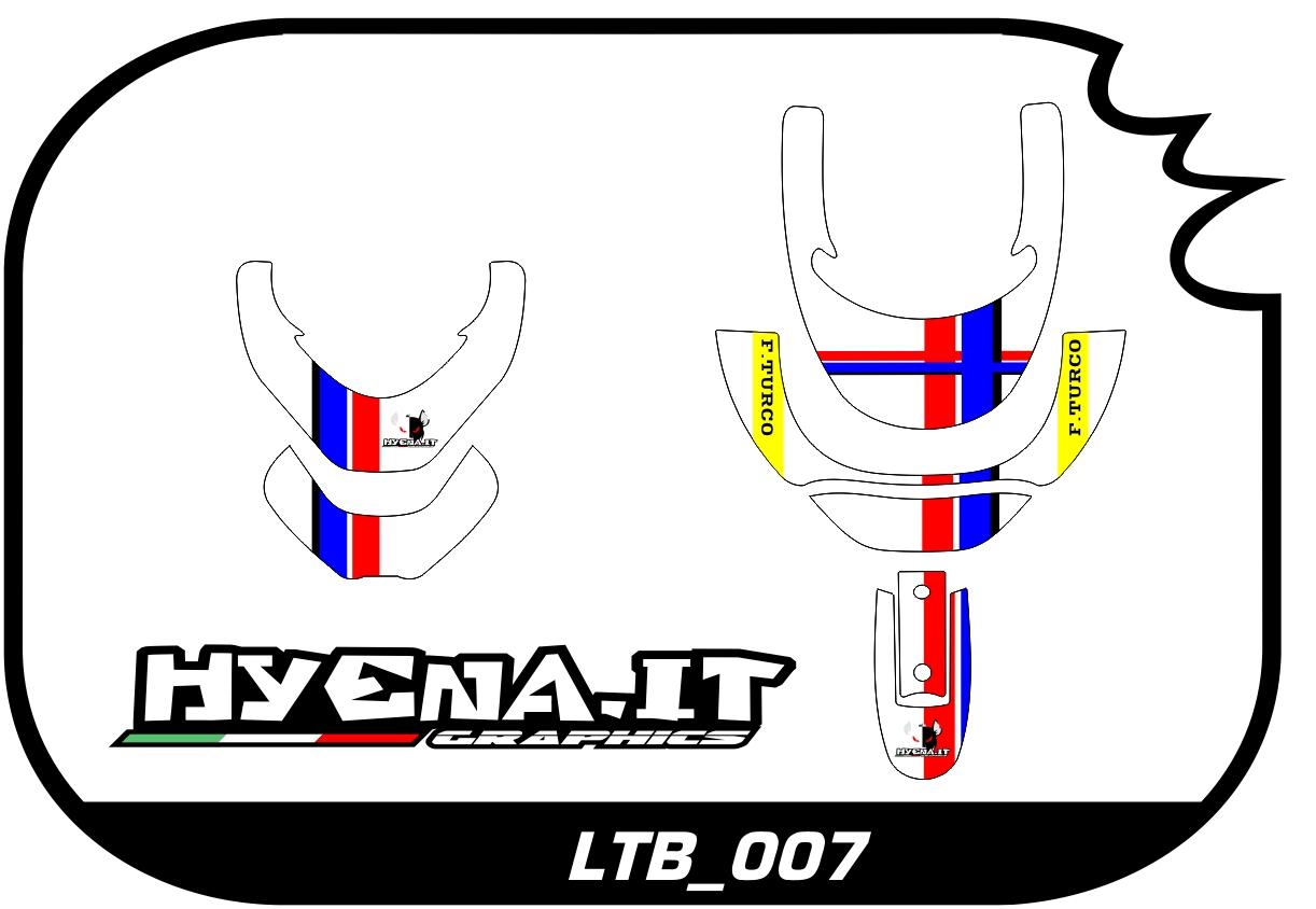 grafiche personalizzate per collare Neck Brace LTB_007